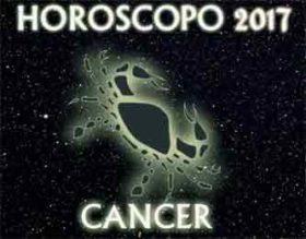 horóscopo cáncer 2017