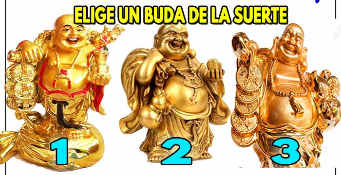 Elige un Buda de la suerte y compartelo para atraerla, guia espiritual pura