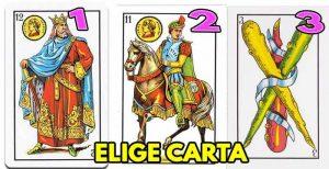 tirada de cartas españolas