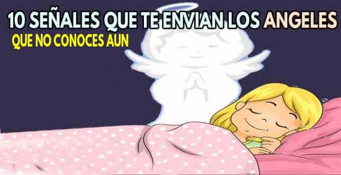 10 señales que te envian los ANGELES para ponerse en contacto 🌟