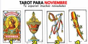TAROT para Noviembre - Mes que te depara SORPRESAS ❤️