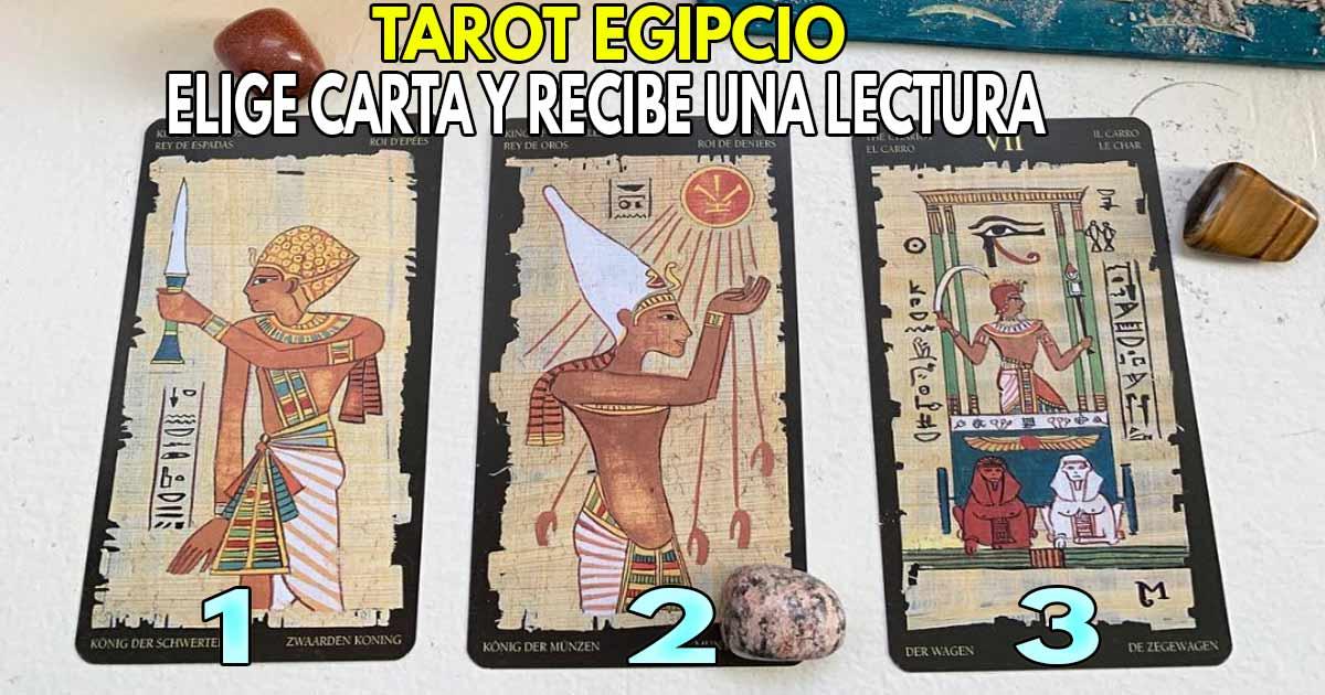 Usa nuestro TAROT EGIPCIO ✨ El más antiguo y revelador
