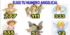 ⭐Elige tu Numero angelical