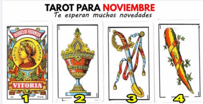 TAROT para Noviembre